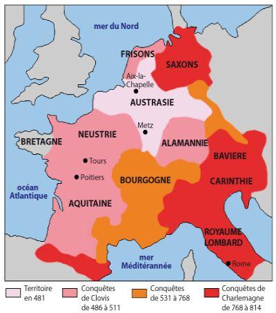 HISTOIRE ABRÉGÉE DE L'ÉGLISE - PAR M. LHOMOND – France - année 1818 (avec images et cartes) Charlemagne